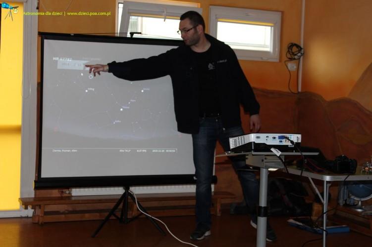 """""""Spotkanie z astronomią"""" w przedszkolu nr 28 im. Małych Astronomów"""
